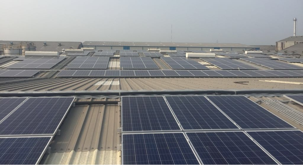 Sunsure Commissions one of the Largest Rooftop Solar Power Plants in Haryana
